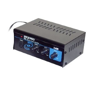 Brand NEW Pyle Pca-2 Mini Home Theater Stereo 2x40 Watt Power Amplifier