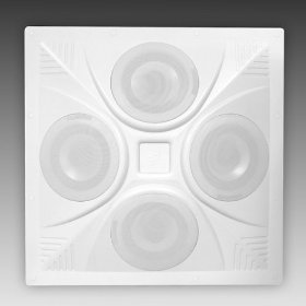 Pure Resonance Audio SD4 Super Dispersion Pro Omni Series Ceiling Speaker Built-In 8 Ohm/70 Volt