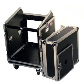 Brand New Tov T-12mrss 12u + 10u Rack Space Dj Flight Case - Signature Series with Thicker 3/8