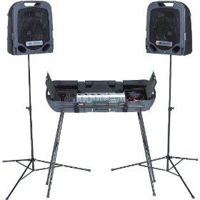 Peavey Escort 2000 Portable Sound System with Stands PA System