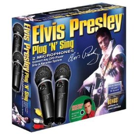 Emerson MM207E Dual Plug 'N' Sing Karaoke Microphones with Elvis' Christmas Songs