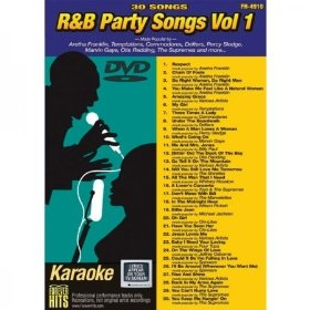 Forever Hits 4910 R&B Party Songs Vol 1 (30 Song DVD)