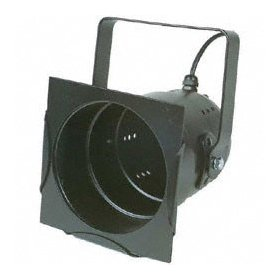 Chauvet Par Can (BLACK) Lamp Included