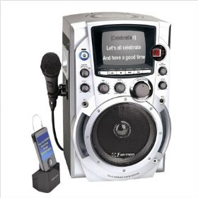 Emerson GQ755 CDG Karaoke System iPod Compatible w/ 100 Songs