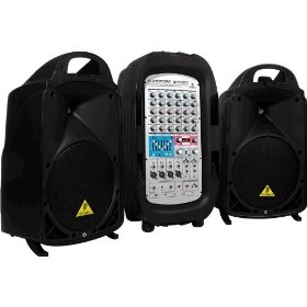 Behringer EUroport EPA900 Ultra-Compact 900-Watt 8-Channel Portable PA System
