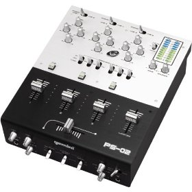 Gemini Three-Channel Stereo Mixer with Kill Switches