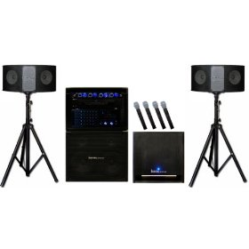IDOLpro THUNDER-1400S Professional Roll-N-Go Karaoke System w/ Subwoofer