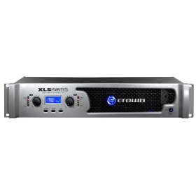 Crown XLS2500 Power Amplifier with integrated PureBand Crossover System and PeakX Limiters