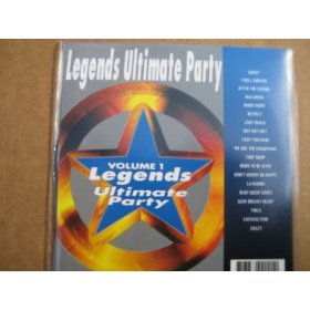 Legends ULTIMATE PARTY Karaoke CDG #1-Stones B-52's Queen Aretha