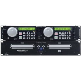 American Audio professional entry level dual cd player with pitch control single / continuous playback