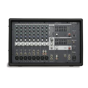 Yamaha EMX212S 8 Input Powered Mixer with 200 Dual Watt Amplifier