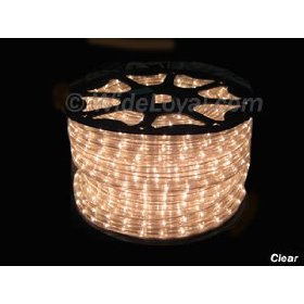 Clear Instant Flexilight 1/2 inch Rope Light 50 Ft Pack