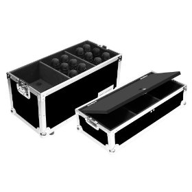 Marathon Flight Ready Case MA-Mic18S Microphone Case for 18 Mics with Storage Compartment