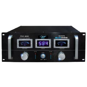 Pyle-Pro PDG5000 Blue Rock 5000 Watt Professional Stereo Power Amplifier (19-inch Rack Mount)