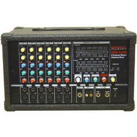 Nady 6-Channel Stereo Powered Mixer