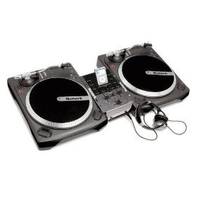 Numark I Battle Pack + Ipod compatible + Turntable
