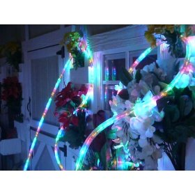 10Ft Rope Lights; Multi Color LED Rope Light Kit; 1.0