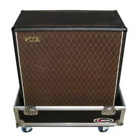 Odyssey FZG412W Flight Zone Ata Case With Wheels For Guitar 412 Speaker Cabinets, Interior Dimensions: 34.5 X 33.5 X 20.3