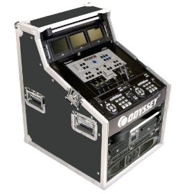 Odyssey FZ496 Flight Zone Ata Triple Combo Rack: 4u X 9u X 6u