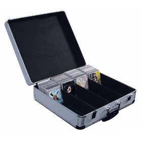 Odyssey KCD600WSIL Silver Krom Cd Case For 600 View Packs With Wheels And Pullout Handle
