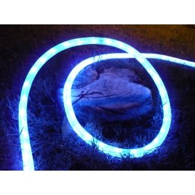 50Ft Rope Lights; Neon Blue LED Rope Light Kit; 1.0