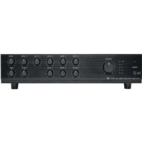 TOA A-706 Mixer Amp 9 Channel 60 Watt With Four Volume Control Security Knobs Included