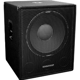 Marathon Sub-18X Single 18-Inch Subwoofer System