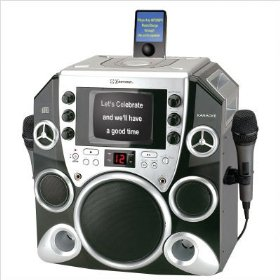 Emerson PP650 Peak Power 650 Complete CDG Karaoke system iPod� Compatible