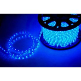 *12 Voltage* Blue 6.6 FT LED Rope light Kit, 1.0