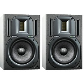 Pair of Brand New Behringer B3030a 2 Way Active Ribbon, Bi-amped Studio Monitor Speaker Systems with Kevlar Woofers *Free Shipping*