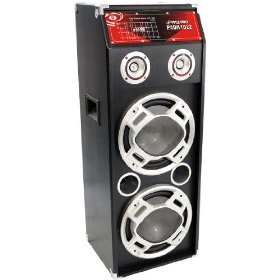 PylePro - 1000 Watts Speaker System W/Built-in Flashing Lighting