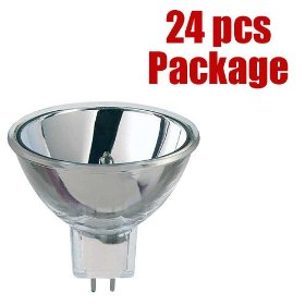 24 pcs. PLATINUM ELC 5 MR16 250w 500 hr. light bulb Package Deal