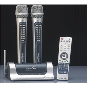 EG-18000 All Wireless English & Spanish Karaoke System