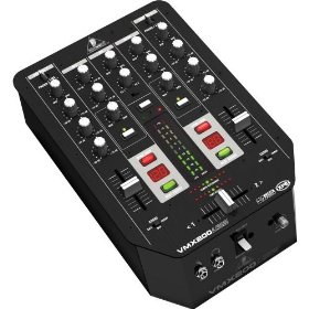 Behringer Pro Mixer VMX200USB Professional 2-Channel DJ Mixer with USB/Audio Interface