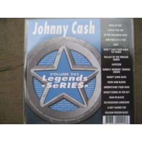 LEGENDS #245 Karaoke CDG All Hits of JOHNNY CASH
