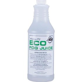 American DJ Eco Fog Quart Water Based Fog Juice Quart