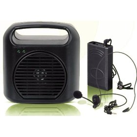 Hisonic Rechargeable & Portable PA Wireless System, HS110R