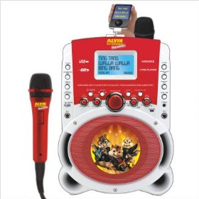 Emerson HD515A Alvin & The Chipmunks Karaoke MP3 Lyric Player With 3.5