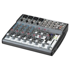 Behringer 1202FX Xenyx Premium 12-Input 2-Bus Mixer with Xenyx Mic Preamps, British Eqs And 24-Bit Multi-Fx Processor