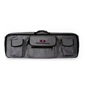 Novation 61 Bag Soft Carry Bag for Novation 61-Key Keyboard and Laptop, Shoulder Bag Style Gig Bag