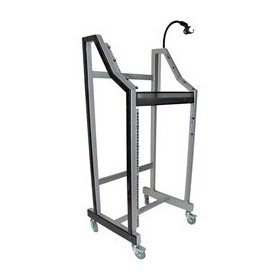 Pyle PDJSD3 DJ Stand with Gooseneck and Mic Holder