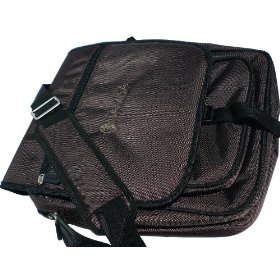 Namba Gear Shaka Laptop Messenger Bag, High Perfomance Bag for Musicians & DJs, in Mayan Brown, SLM-BN