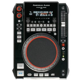 American Audio Radius 1000 Professional Single CD MP3 player  Professional