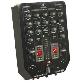 Brand New Behringer Professional 2-channel Dj Mixer with Usb/audio Interface, 3-band Equalizer and Automatic Talkover Function