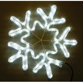LED Rope Light Snowflake - 18