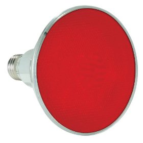 Lamplite LL-Par38LEDR Red LED Flood Lamp Medium Screw Base