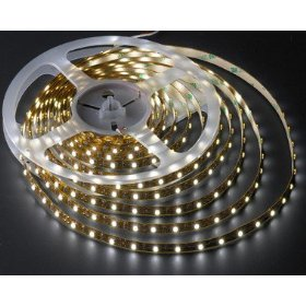 Flexible Lighting Strip 300 SMD LED Ribbon 5 Meter or 16.4 Ft 24 volt Warm White, 2026WW-31K-24V