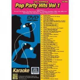 Forever Hits 4905 Pop Party Hits Vol 1 (30 Song DVD)