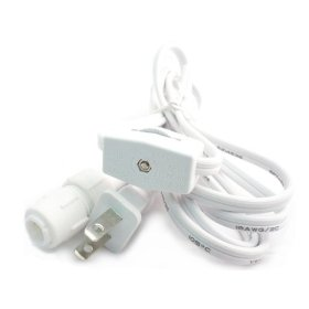Rope Light Power Cord with Switch Kit for 3/8