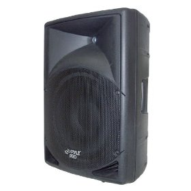 PYLE-PRO PPHP150A - 15'' 1200 Watt Powered  2 Way Full Range Loud Speaker System